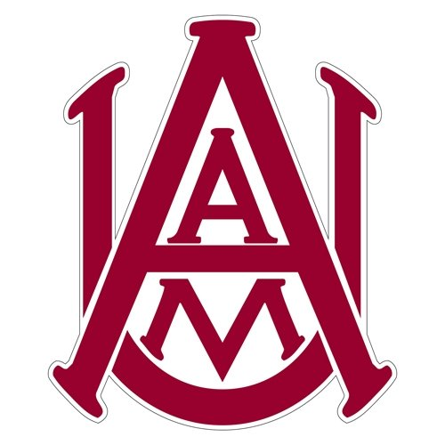 Alabama A&M Extra Large Magnet 'Official Logo' by CollegeFanGear