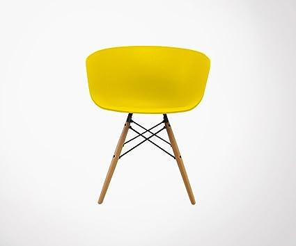 Meubles & Design 6 sillones Estilo nórdico Ray - Color ...