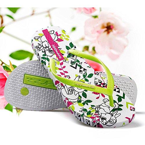 externo EU36 playa los femeninas zapatos 5 con antideslizantes desgaste del planas Tamaño de Zapatillas UK3 CN36 frescos la verano del estudiante amantes wSqUvBAa