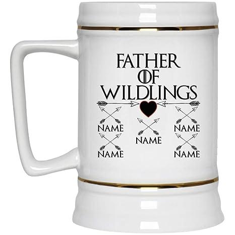 Amazon.com: Taza de cerveza personalizada con diseño de ...