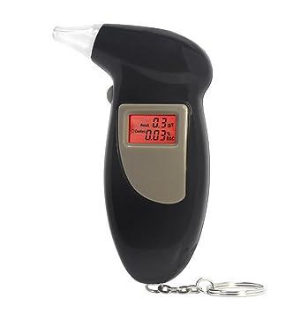 restbuy llavero con pantalla LCD Digital Alcohol alcoholímetro analizador detector Policía para los conductores: Amazon.es: Coche y moto