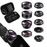iPhone Lens Kit, Phone Lens for Andriod, KEYWING HD Cell Phone Lens for iPhone Xr, 7 Plus, 8 Plus,...
