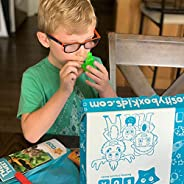 The Discover Kids Themed Craft and Educational Activities Subscription Box for Ages 2-4 from Curiosity Box Kid