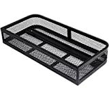 K&A Company Universal Front Atv Hd Steel Cargo Basket Rack Luggage Carrier 36''X17.25''X6.25''
