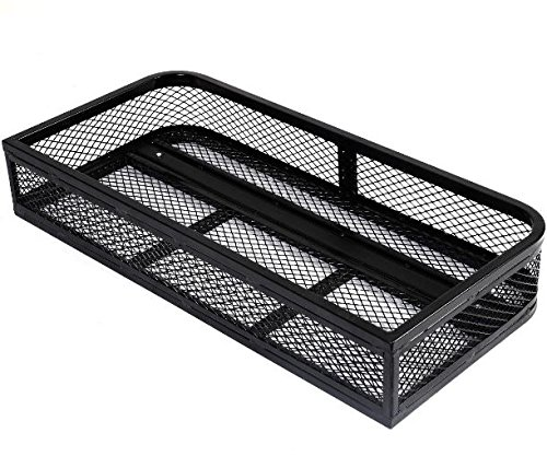 K&A Company Universal Front Atv Hd Steel Cargo Basket Rack Luggage Carrier 36''X17.25''X6.25'' by K&A Company