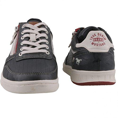 Herren Sneaker MUSTANG 4098-309-259 gris grafito 41 42 43 44 45 46 grau