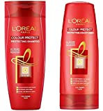 L'Oreal 30 Wash Colour Protect Shampoo & Conditioner (Pack Of 2) With Ayur Product In Combo