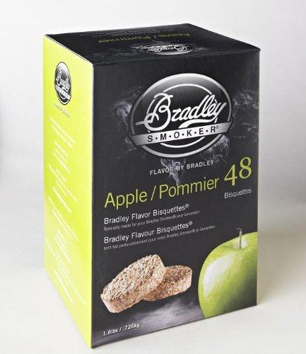 Bradley Smoker Flavor Bisquettes – Box 120 - Apple