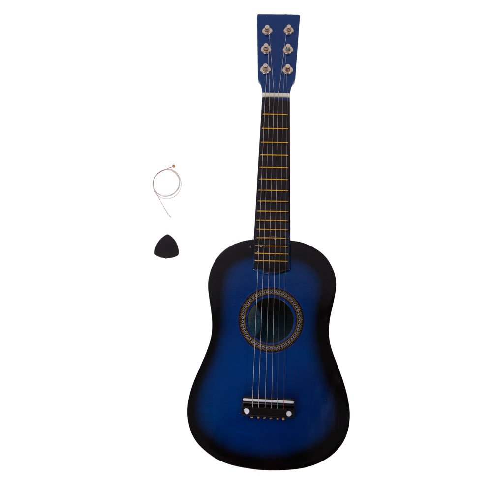 Festnight 23'' Acoustic Guitar with Guitar Pick and Strings Basswood Cutaway Guitar for Beginner/Kids/Boys/Girls/Junior/Adult/Children/Youth Blue