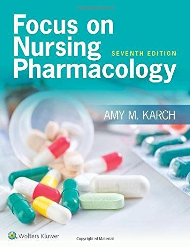 Focus on Nursing Pharmacology cover