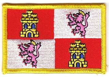 Parche de España – Castilla León la bandera de la Región Suiza®: Amazon.es: Deportes y aire libre