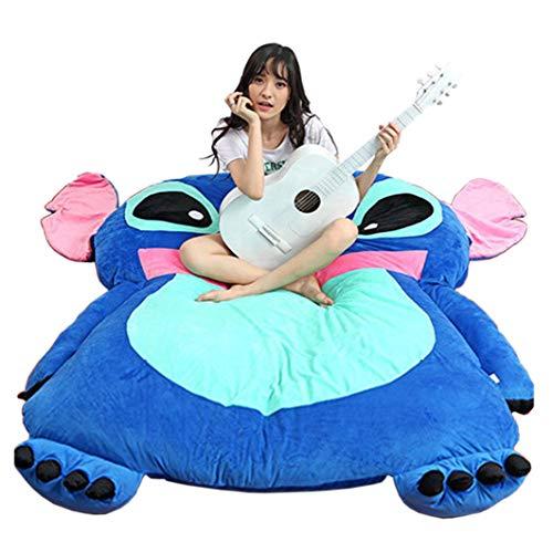 Alkem Cute Cartoon Lilo&Stitch Image Sleeping Bag Sofa Bed Twin Bed Double Bed Matt.