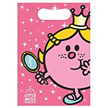 Little Miss Princess Pack Of 8 Loot Bags