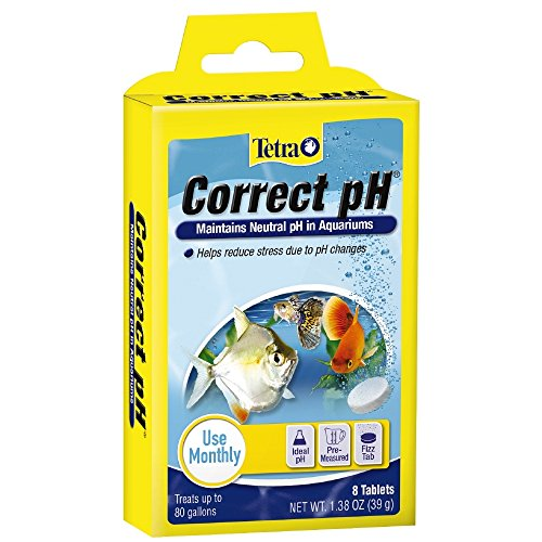- Tetra Correct pH Tablets for up to 80 Gallon Aquariums, 8-Count