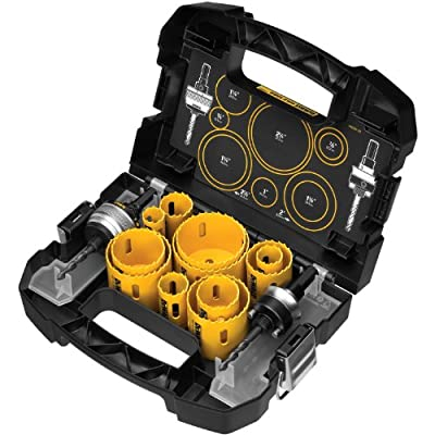 DEWALT D180005 14 Piece Master Hole Saw Kit by DEWALT