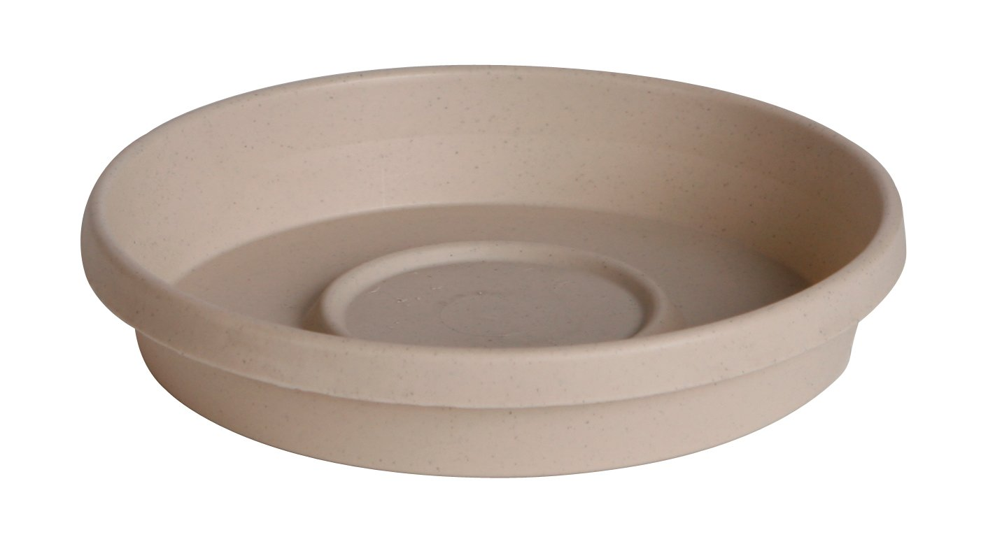 Bloem Terra Plant Saucer Tray 8'' Taupe