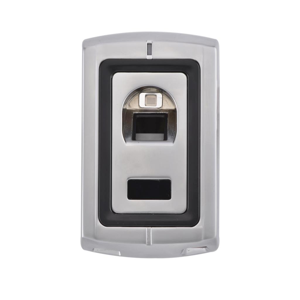 Homyl Stainless Fingerprint Card Door Entry Access Control System with IR Remote Silver