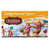 Celestial Seasonings Gingerbread Spice Herbal Tea, 20 Count