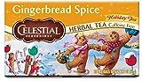 Celestial Seasonings Herbal Tea, Gingerbread Spice, 20 Count (Pack of 6)