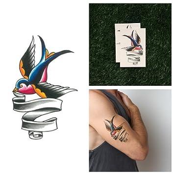 Tatuaje Temporal Tattify - Pájaro Tradicional - Error Al Enviar ...