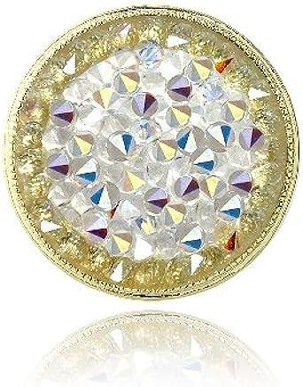 Amazon.com: Crystal Ice Aurora Borealis Crystal Rocks Ring Made ...