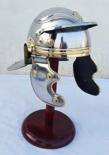 Shiv Shakti Enterprises Roman Centurion Trooper Armour Helmet Roman Medieval -