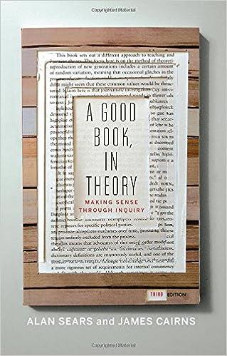 7bd56f5a8d1 A Good Book, In Theory: Making Sense Through Inquiry, Third Edition Reprint  Edition