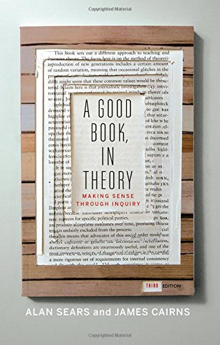 A Good Book, In Theory: Making Sense Through Inquiry, Third Edition (Level Sears)