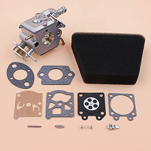 Laliva Tools Carburetor Air Filter Gasket Repair Kit For McCulloch Mac 335 435 440 Partner 350 351 Gas Chainsaw Spare Parts Walbro 33 29 Carb