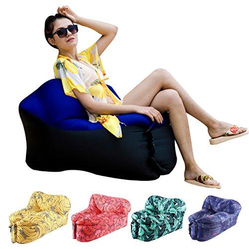 Inflatable Lounger U shape Swimming mattress product image