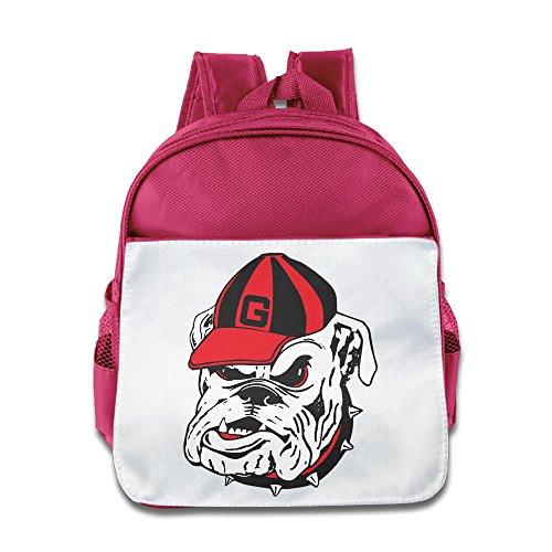 (Ysov Georgia Bulldogs Baby Boys Girls Pre School Carry Bag Pink)