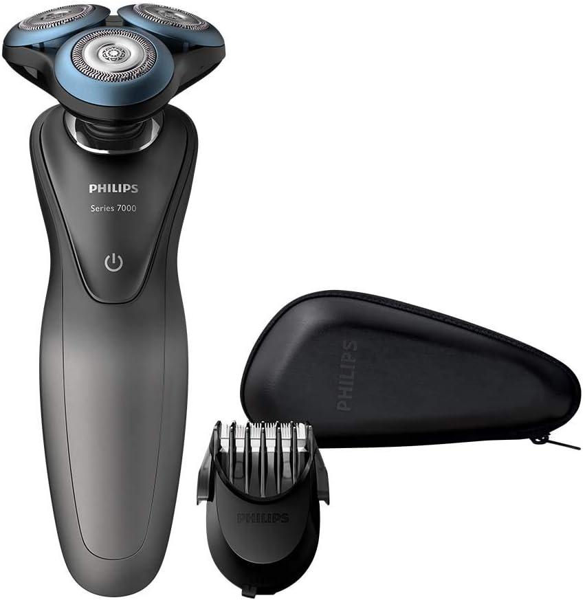 Philips S7960/17 7000, afeitadora inteligente en seco y húmedo con ...