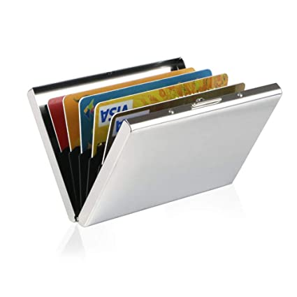 b42f3214f5e4 Amazon.com  Metal Credit Card Wallet