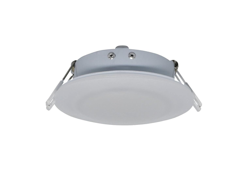 Facon LED empotrable techo luz con muelle, 4.5 inch12 V DC interior luz para autocaravanas, caravanas, remolques, barcos, marinos y vehí culos marinos y vehículos Genesis Lighting Co. Ltd.