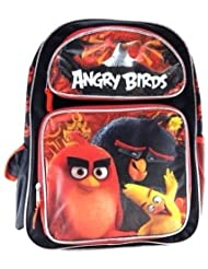 2016 New Angry Birds 16 Canvas RED School Backpack