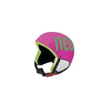 Casco de esquí Neon Freeride Plus Pink/Green Fluo, Rose: Amazon.es: Deportes y aire libre