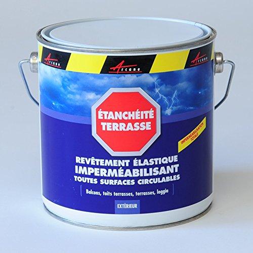 Beau Produit Du0027étanchéité Terrasse Balcon Peinture Décorative Résine Revêtement  Protection Circulable Extérieur ARCATERRASSE: Amazon.fr: Bricolage