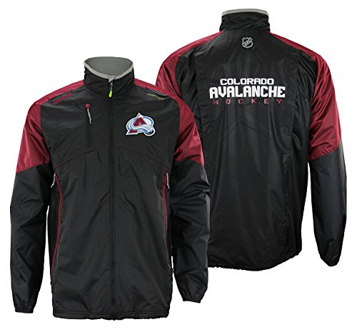 Colorado Avalanche Reebok 2015 Center Ice Kinetic Rink Full Zip (Reebok Athletic Jacket)