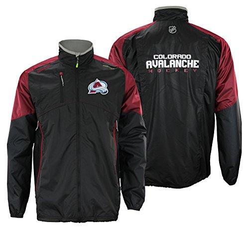 (Colorado Avalanche Reebok 2015 Center Ice Kinetic Rink Full Zip Jacket)