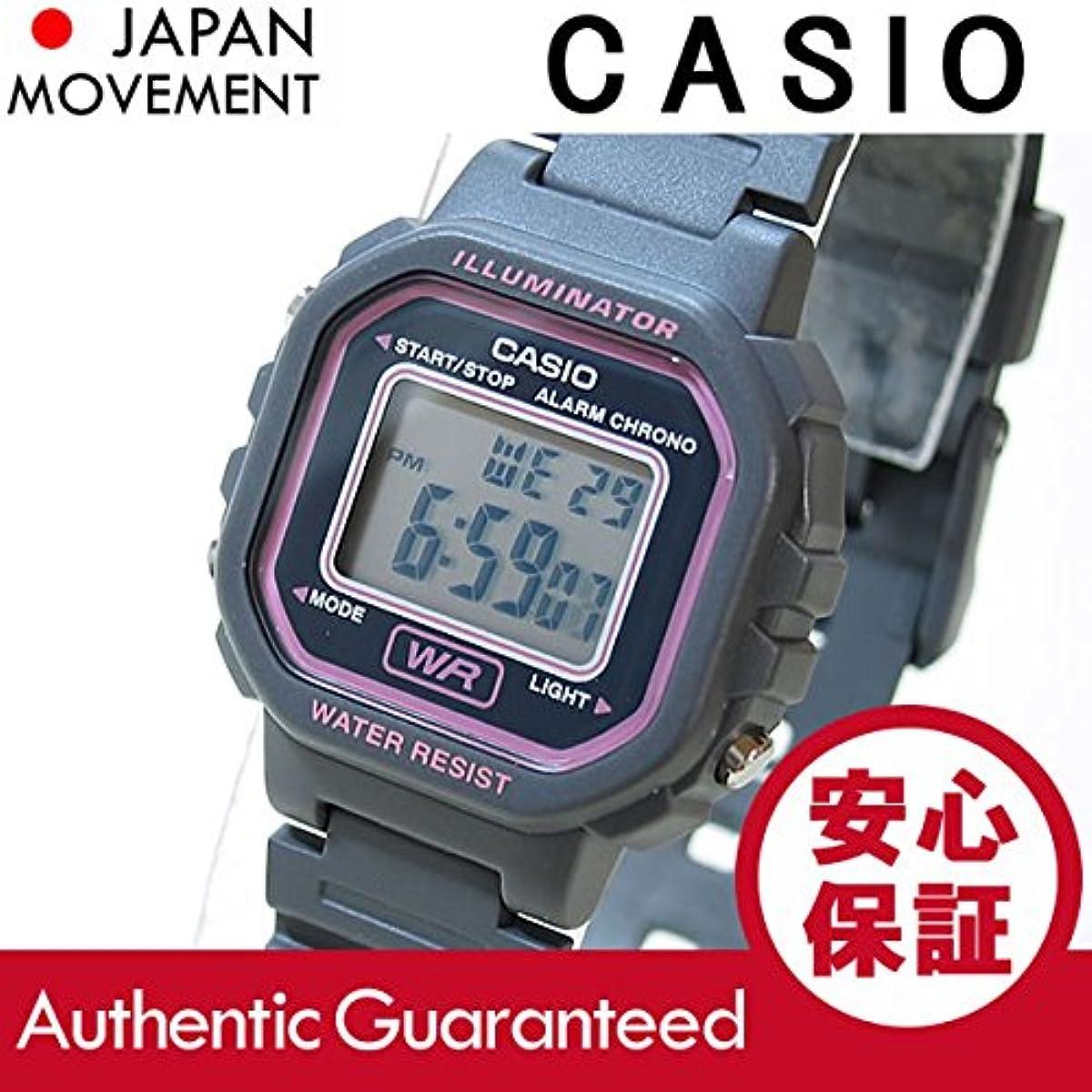 [해외] CASIO(카시오) LA-20WH-8A/LA20WH-8A 스탠다드 디지탈 핑크×그레이 레이디스 워치 손목시계 [병행수입품]