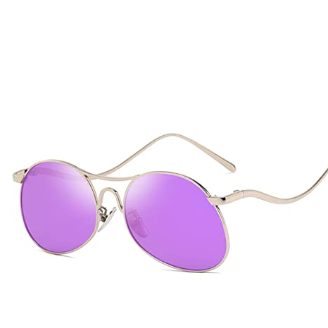 YWYU Nuevas Gafas de Sol de Moda Templos Personalizados ...