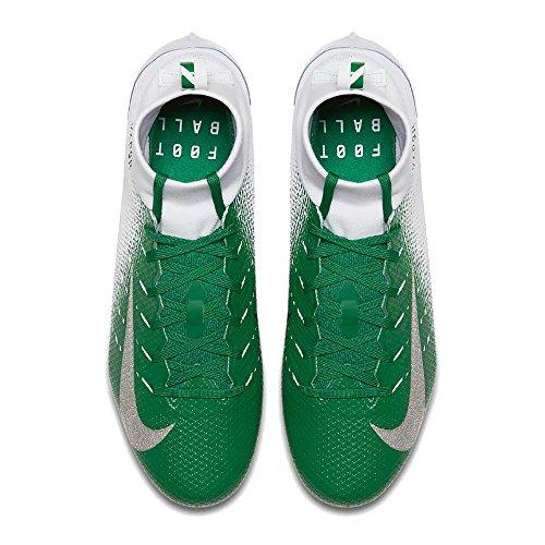 Nike Mens Vapor Intoccabile 3 Pro Tacchetti Da Calcio Bianco / Nero-pino Verde-verde Rabbia