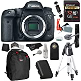 Canon EOS 7D Mark II Digital SLR Camera (Body) + 32GB SDHC + Polaroid 72 Tripod + Polaroid LP-E6 Battery Pack + Gadget Bag + Polaroid Accessory Kit