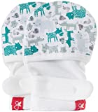 #8: goumikids - goumimitts, Scratch Free Baby Mittens, Organic Soft Stay On Unisex Mittens, Stops Scratches and Prevents Germs