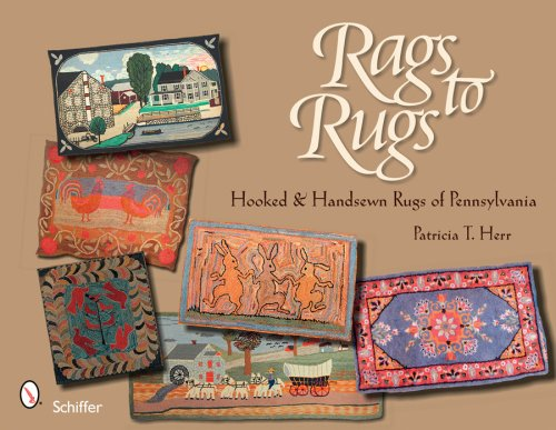 Rags to Rugs: Hooked and Handsewn Rugs of (Hooked Rag Rugs)