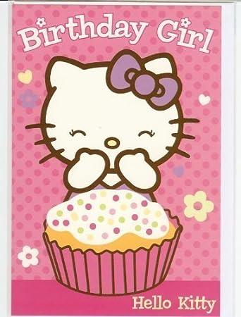 Hello kitty birthday greeting card amazon toys games hello kitty birthday greeting card bookmarktalkfo Gallery