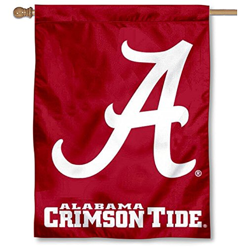 University of Alabama A Logo House Flag Banner