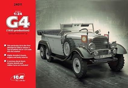Amazon ICM Models G4 German Personnel Car 1935 Production