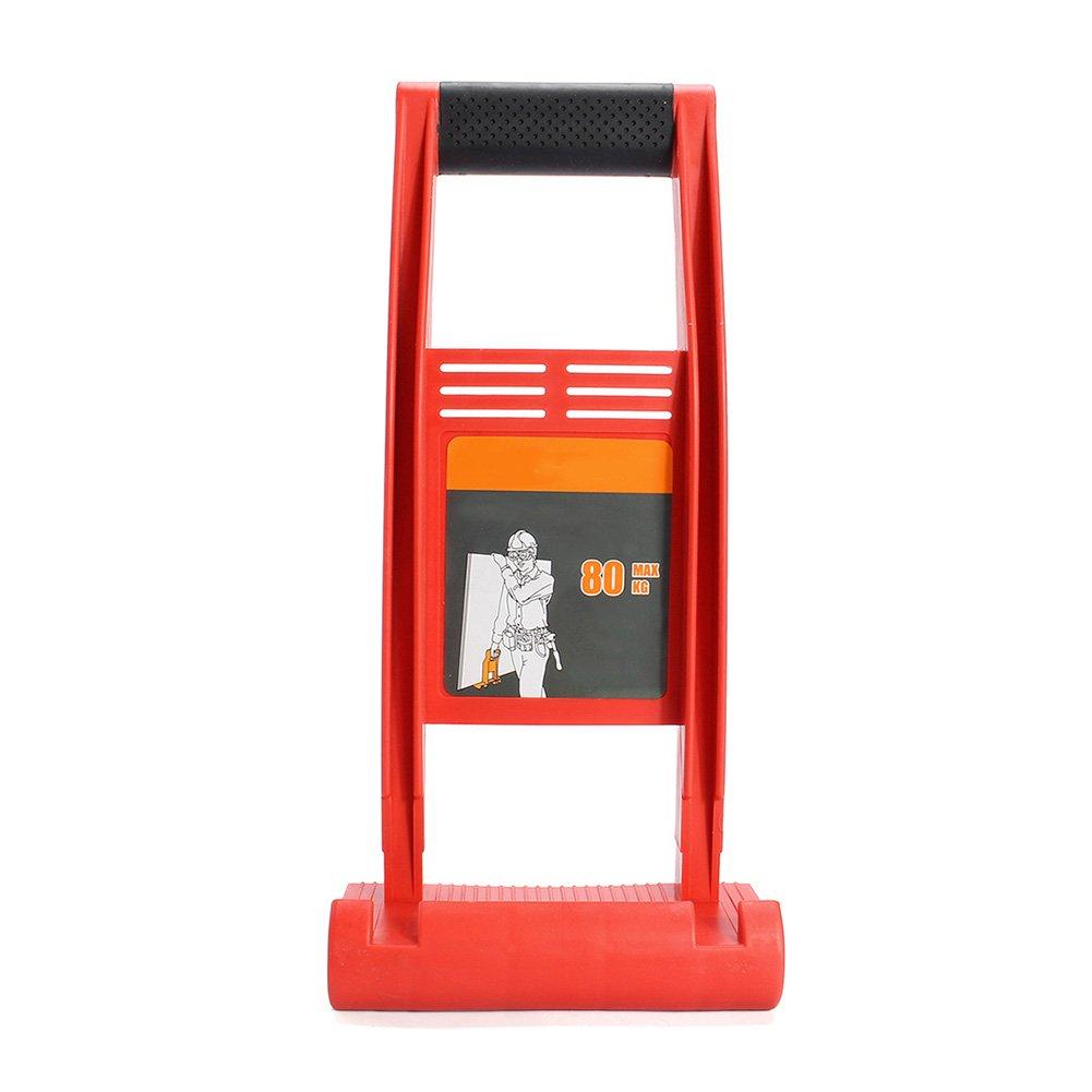 lzndeal Maniglia di trasporto per setto Maniglia di trasportatore di pannello portano l' strumento di carico dell' ABS 80kg di tabella di compensato di cartongesso