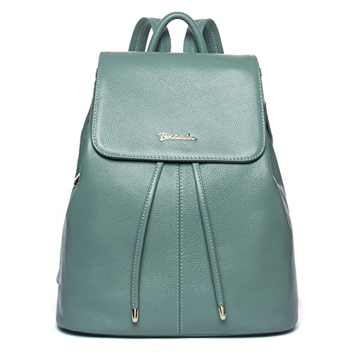 BOSTANTEN Vintage Women's Leather Backpack Casual Daypack Handbags for Ladies & Girls ()